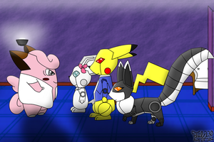 Dr. Clefarious's Pokerobo Army by Tails230