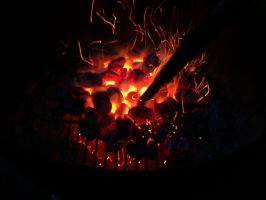 Glowing Coals by cowgirlscholar