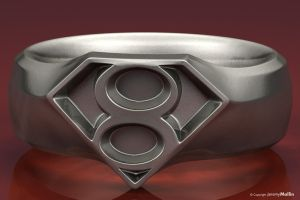 Kryptonian Ring by JeremyMallin