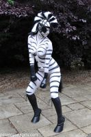 Lilith the Zebra Girl by Kantaka66