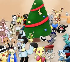 Le Christmas Party by Usuii