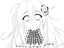 Aimi lineart by yuna-chicky-yummy