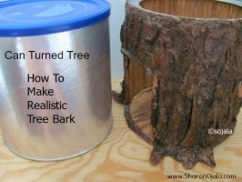 Fake Tree Bark by sojala