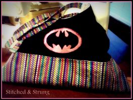 Batman Inspired Fan Made Purse by mischievousb