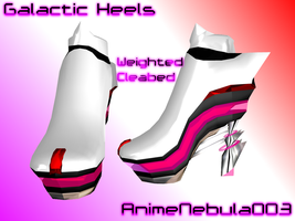 Galactic Heels - AN003 by AnimeNebula003