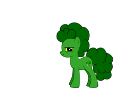 Broccoli: The Broccoli Pony by TheCheeseburger