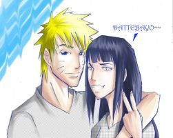 Naruhina - Rubbing off.. by ihatecollege