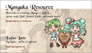 Making of a Business Card by Kafae-Latte