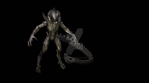 Xenomorph predalien by One-Eye-Jack