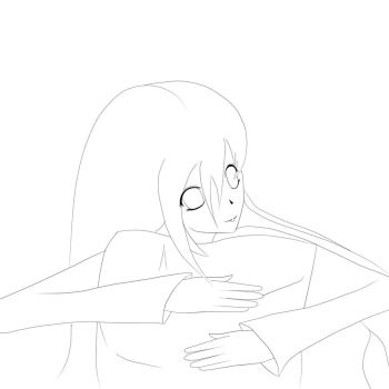 my first shockingly awful lineart by GothicPrincess0134