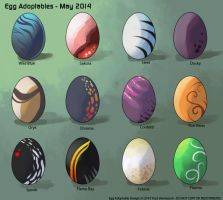 [Egg Adoptables] May 2014 Round (All Gone!) by Ulario