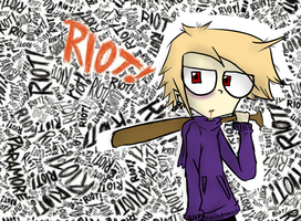 Riot by InvaderMas
