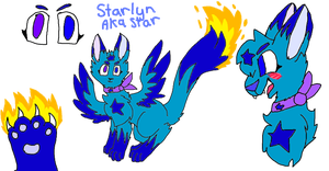 Starlyn aka Star updated ref by Stary-Light