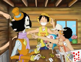 Why Luffy Isn't Allowed To Play Cards by EraYachi