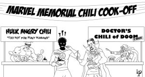 Marvel Memorial Day Chili Cook-off by leroysquab