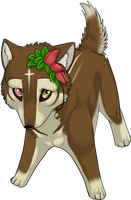 Okami Mascot by diaszoom