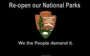 Re-open our National Parks by slowdog294