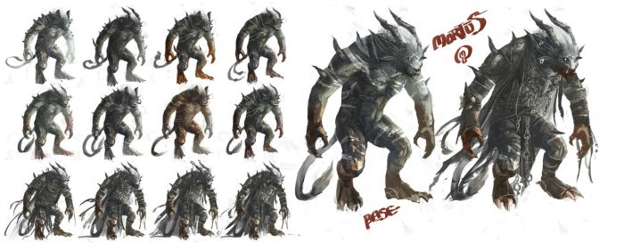 Mortus Character Study by Changinghand