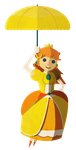 Princess Peach (Daisy Colors) by SenorDoom