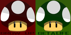 Grow up emblem and get a life by Undeaddemon4