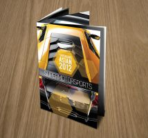 Supercars Asia 2012 brochure by Lemongraphic
