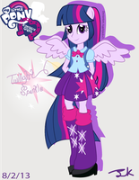Equestria Girls Twilight Sparkle by Arteses-Canvas
