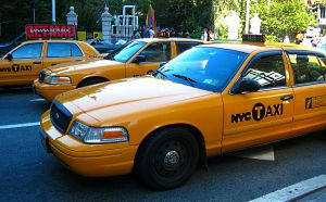 New York - Yellow Cab by FoxboroNRoses