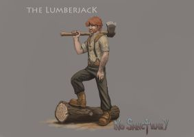 No Sanctuary: The Lumberjack by dinfet