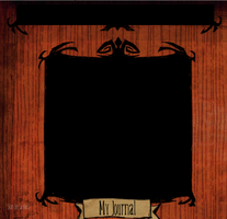 STOCK: Don't Starve Journal Skin by LunchboxFrank