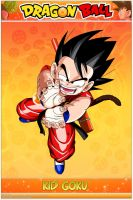 Dragon Ball - Kid Goku K VS KPO by DBCProject