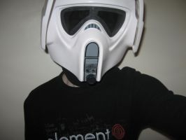 Me again as a Scout Trooper by CrashyBandicoot