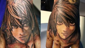 Death note Tattoo by IchirakuTV