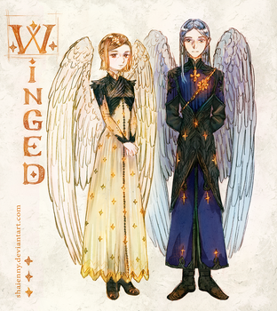 Chronicles of Laeni: Winged by Shaienny