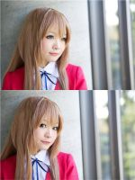 ToraDora- Taiga winter uniform - 02 by MissAnsa