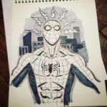 Spider-Man commission  by spacehater