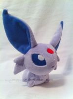 Espeon pokedoll by SpaceVoyager