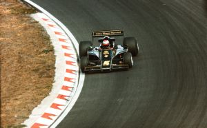 Mario Andretti in a Lotus 77-Cosworth. NED 197 by F1-history