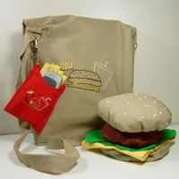 Hamburger BAg by Loftygirl