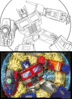 Optimus Prime by marvisionart