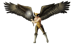 Hawkgirl by Ombre-Lumineuse