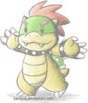Chibi Bowser Wants a Hug by Zenfyre