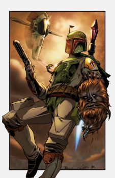 test digital ink boba fett by jorgecopo-dafi3on XG by knytcrawlr
