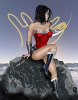 Wonder Woman Colored by sidrulzz