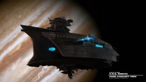U.S.S. KIMOTA FORE  VIEW by DESTRAUDO