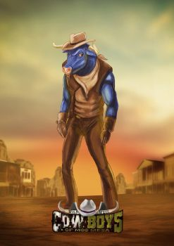 Wild West C.O.W.-Boys of Moo Mesa - Dakota by biondoartwork