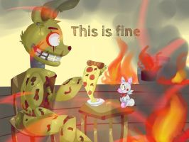 Springtrap will be fine by Keelseana