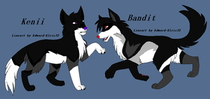 CONTEST! Win Kenii and Bandit! by BlackWolf1112-ADOPTS