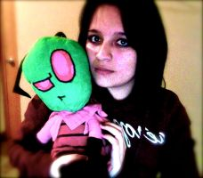 My Zim plushie by jackfreak1994