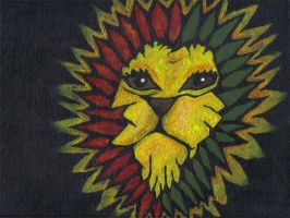 Rasta lion by Oneelove