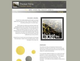 Thicket Films Website mark II by netzephyr